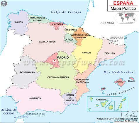 la espana de los 8420635308 mapa de espa 241 a espa 241 a mapa