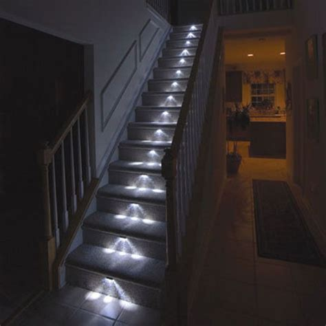 lights on stairs light up your stairway freshome
