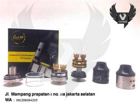 Rdta Mage Combo Authentic jual coilart mage combo rda rdta authentic vape harga