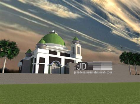 desain masjid timur tengah jasa desain masjid bapak pandi tirtoutomo di temanggung