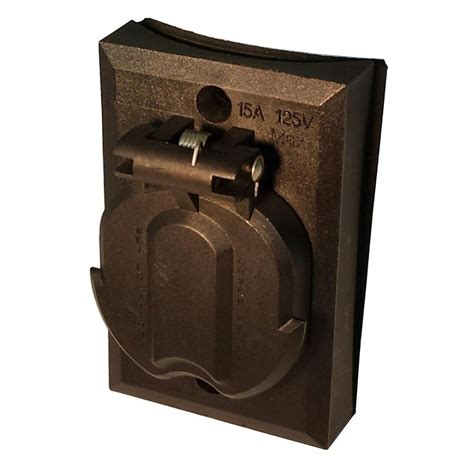 design house black replacement electrical outlet for l