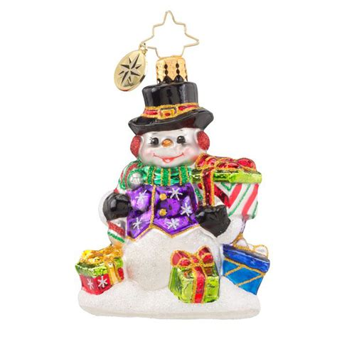 christopher radko ornaments 2016 radko snow drift gifts
