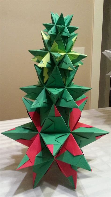 Large Origami - large origami stacking tree