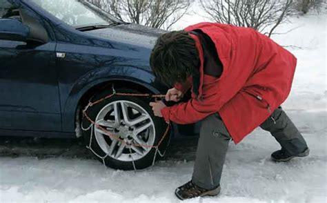 porque cadenas para la nieve cadenas para nieve c 243 mo ponerlas en tu coche pepecar