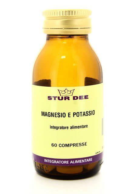 magnesio alimentare integratore alimentare magnesio e potassio