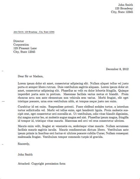 a proper letter format exle business