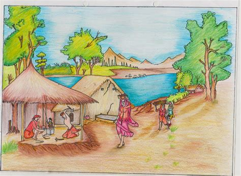 Drawing Competition For Class 6