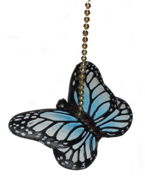 decorative light chain pulls blue butterfly fan pull decorative light chain devon j