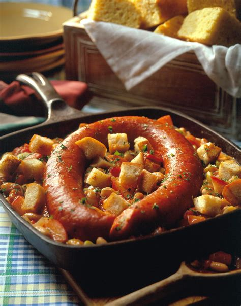 country style pork sausage recipe smoked sausage skillet cassoulet pork recipes pork be