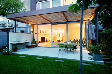 covered outdoor patio modern patio toronto