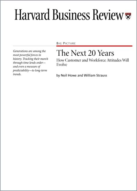 Harvard Mba Salary After 20 Years by The Next Twenty Years Lifecourse Associates Bookstore