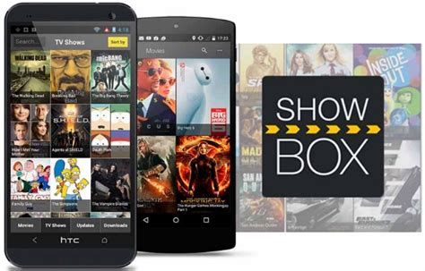 showbox apk for android showbox apk show box for android chocolate chip ui