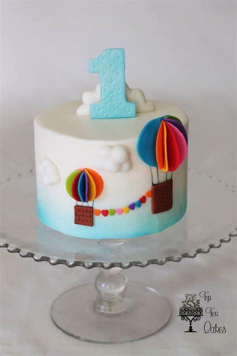 479 best images about Hot Air Balloon Cakes on Pinterest   Balloon cake, Birthday cakes and Hot