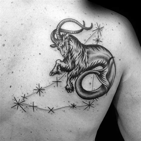 60 capricorn tattoos for men astrological ink design ideas