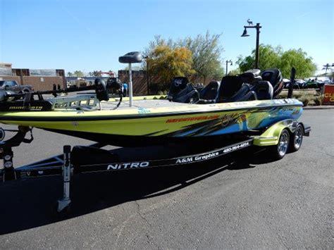 used nitro bass boats texas used nitro boats for sale boats