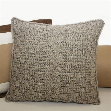 Crochet Pillow Patterns knot sew design shop new crochet pattern aran