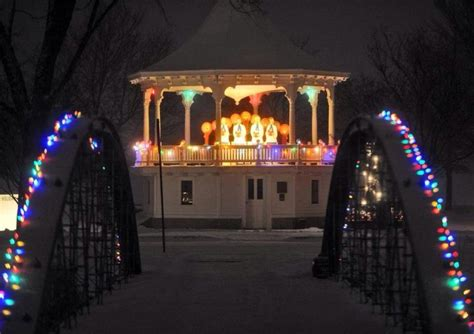 lakeside park holiday lights and light show travel wisconsin