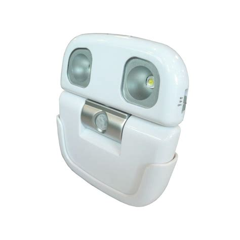 rite lite high output led white security light with motion