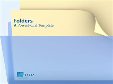 Folders A Powerpoint Template From Presentermedia Com Powerpoint Templates Folder Mac