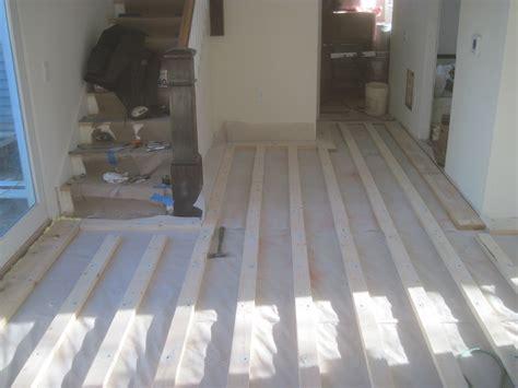 subfloor on concrete statlerprojects s blog