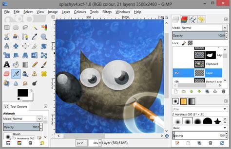 best drawing tool gimp una herramienta libre de manipulaci 243 n de im 225 genes