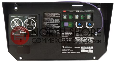 Craftsman 41a5021 3h 315 Garage Door Opener Circuit Board Craftsman 315 Garage Door Opener
