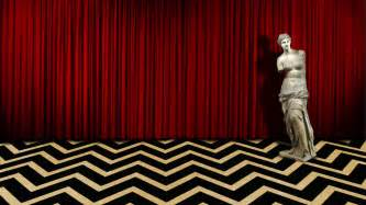 Black Print Curtains Twin Peaks Phone Wallpaper Wallpapersafari