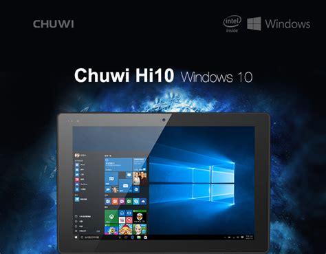 Tablet Windows Chuwi Hi10 Ultrabook 64gb Ram 4gb 10 1 Inch chuwi hi10 ultrabook tablet dual os win10 android 4gb 64gb 10 1 inch black jakartanotebook