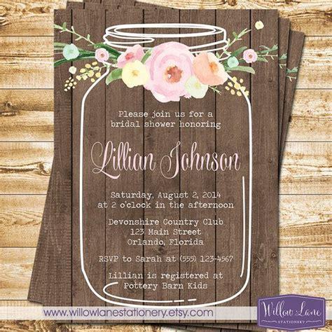 best 25 mason jar invitations ideas on pinterest