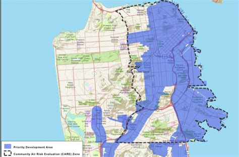 san francisco development map building houses near transit is but what about air