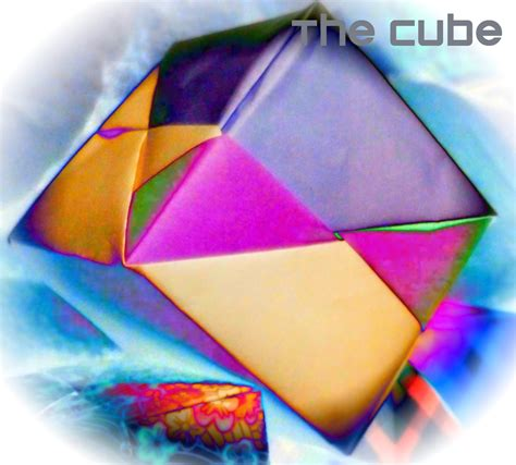 Folding Paper Into A Cube - paperbelle origami how to fold an origami cube