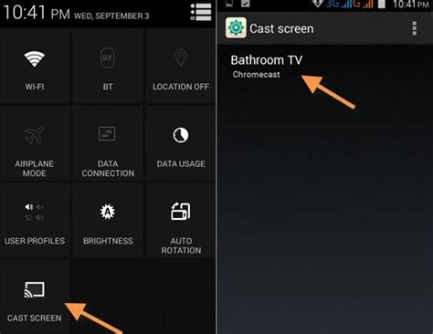 cast android screen to tv how to cast android screen on your smart tv