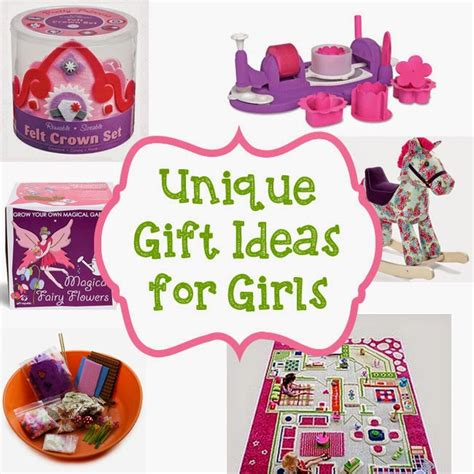 unique gift ideas for girls 2014 frugal family fair