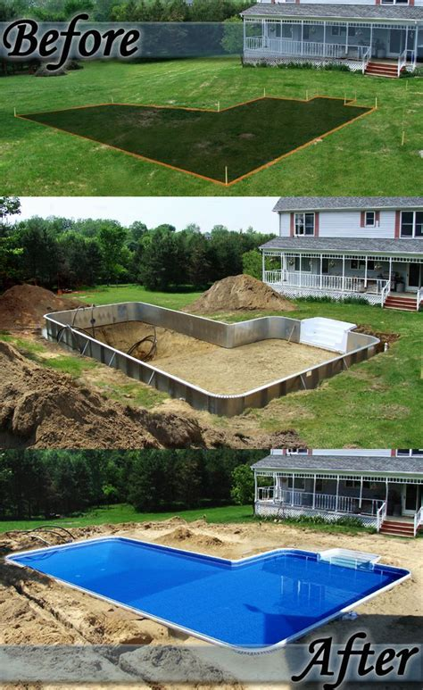 Swimming Pool Garten 566 by 38 Best Backyard Before And Afters Images On