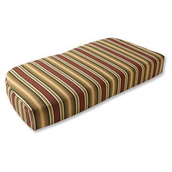 sunbrella settee cushions outdoor furniture cushions deep seat sunbrella 174 settee