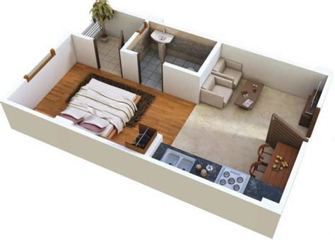 home design for 450 sq ft 450 sq ft 1 bhk 1t apartment for sale in samanvay group