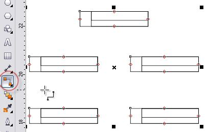 cara membuat struktur organisasi dengan foto membuat bagan dengan coreldraw belajar coreldraw