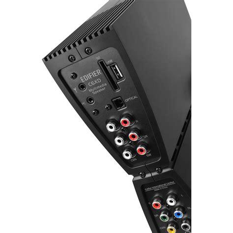 edifier c6xd 5 1 system 80w rms schwarz hardware