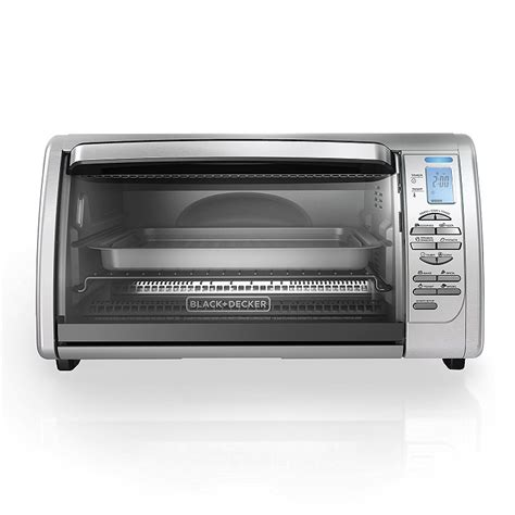 Convection Oven Countertop Reviews by Black Decker Cto6335s 6 Slice Digital Convection Toaster