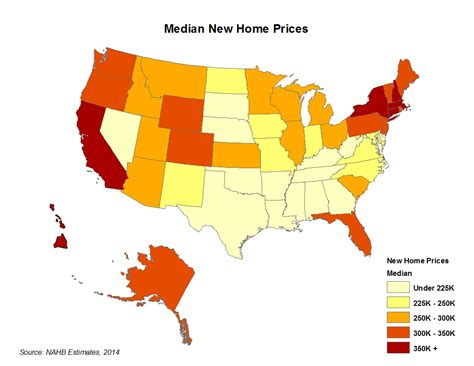 top posts of 2014 new home prices by metro area and state