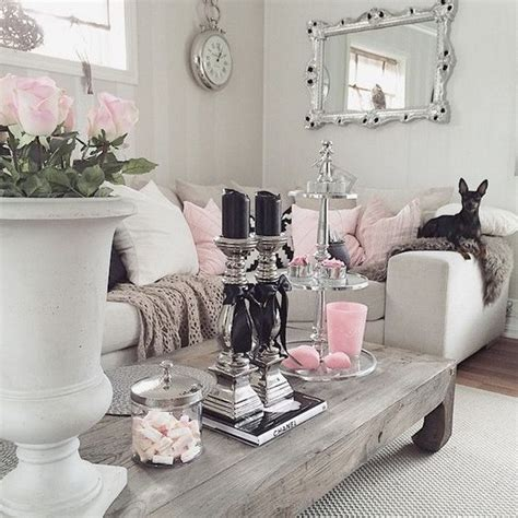 pink accessories for living room 25 charming shabby chic living room decoration ideas for creative juice