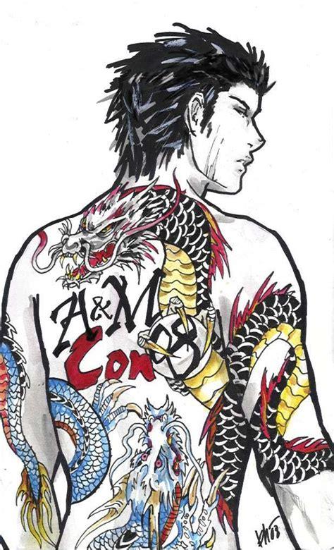 tattoo yakuza design yakuza lizard