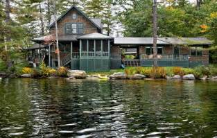 lakes homes lake house rustic exterior burlington by smith