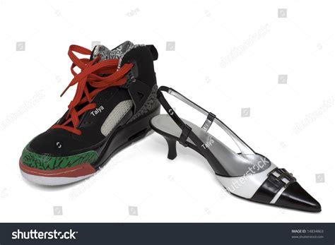 fancy basketball shoes fancy shoe basketball shoe stock photo
