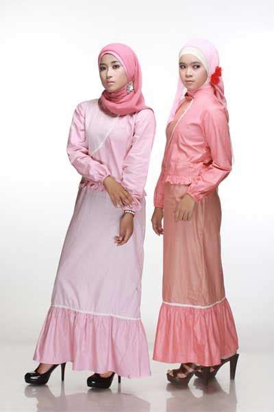Busana Muslim Bm6550 Bahan Kaos koleksi taniaz busana muslim anggun