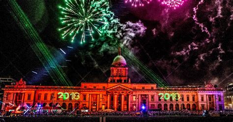 new year festival dublin new year festival dublin sees one million tune