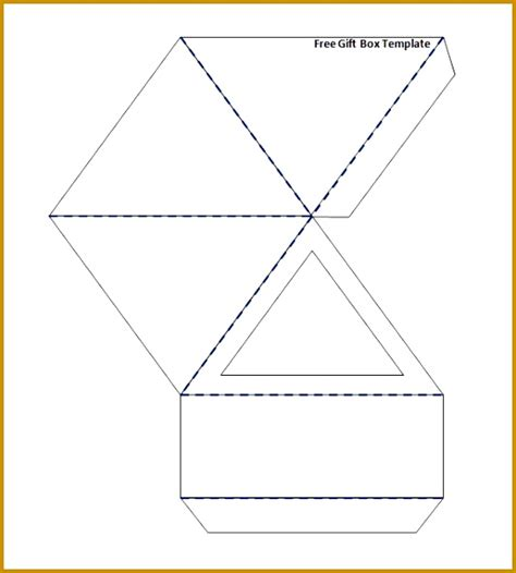triangle packaging template 6 triangle packaging template fabtemplatez