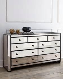 Mirrored Dresser Powell Mirrored Chest