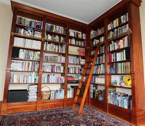floor to ceiling bookshelves plans floor to ceiling bookcase with ladder thesecretconsul