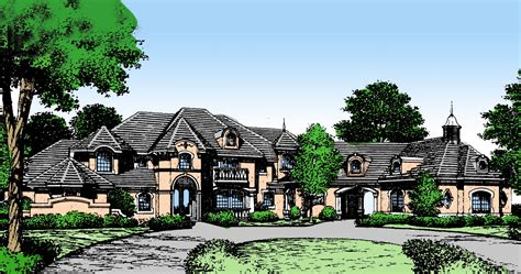 country estate house plans impressive french country estate home 83304cl 1st